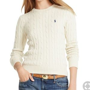 Ralph Lauren Ivory Sweater